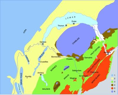 Carte Geologique Australie.La Geologie De La Haute Savoie Connaitre Et Preserver La Flore De